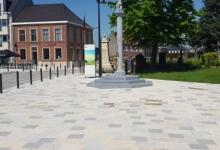 Marktplein Sint LIevens Houtem